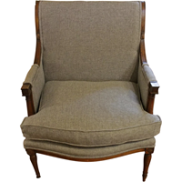WC-1221: French Bergere Chair