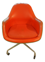 Mid-Century Modern Swivel Arm Chair