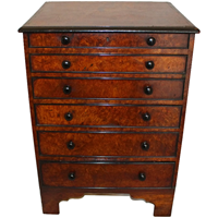 WCH-868z: Mid-Nineteenth Century English Collector's Chest