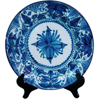 WCI-5114: 18th Century Delft Charger