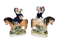 WCI-5283: A Pair of Staffordshire Figures