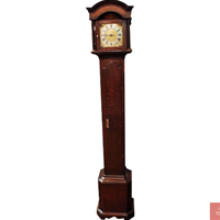 "WCK-203z: Late 18th Century English Oak ""Grandmother"" Clock"