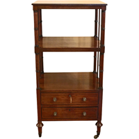 WOF-2440: English Regency Etagere or What-Not Stand