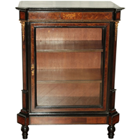 WOF-2451z: Mid-19th Century French Cabinet with Glass Door