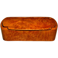 WB-1280z: 19th Century Burl Birch Snuff Box