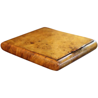 WB-1281z: 19th Century Calling Card Case of Amboyna Burl