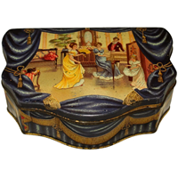 "WB-1287z: Huntley & Palmers Biscuit Tin ""The Music Room"""