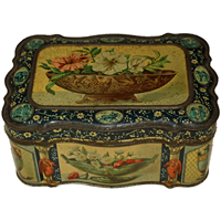 WB-1289z: 1878 Paris Grand Prize for Biscuit Tin by Huntley & Palmers