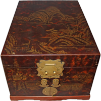 WB-1361z: Japanese Lacquer Box