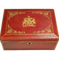 WB-1401z: 20th Century Scarlet Letter Box by John Peck & Son (SOLD)