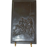 WBR-182: 19th Century Bronze Bas Relief