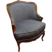WC-1242: French Bergere Chair