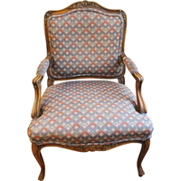 WC-1254z: Recoco Revival French Fauteuil