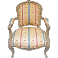 WC-1256z: French Doll's Fauteuil
