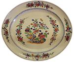 WCI-6576z: 19th Century Famille Rose Chinese Export Platter