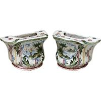 WCI-7569: A Pair of Bough Pots