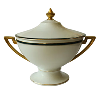 WCI-7926z: Art Deco Covered Porcelain Tureen