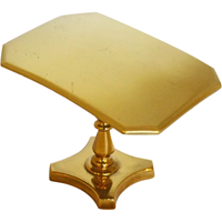 WMI-3394z: Miniature Brass Tilt-Top Breakfast or Loo Table