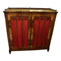 WOF-2407z: German Gothic Revival Cabinet