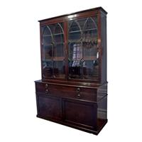 WOF-2413: Georgian Bookcase Cabinet