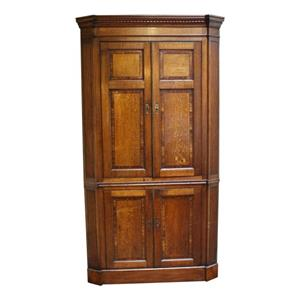 WOF-2414: Georgian English Country Corner Cabinet