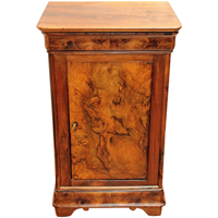 WOF-2456z: Mid-19th Century Country French Chevet of Walnut (SOLD)