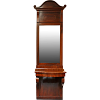 WOT-1201: 19th Century Swedish Classical Period Console & Mirror