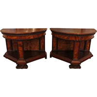 WOT-2322: Pair of Italian Console Tables