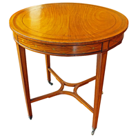 WOT-2359z: English Satinwood Center Table
