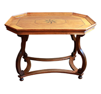 WOT-2378z: Early-Mid 19th Century French Cherry Wood Coffee Table