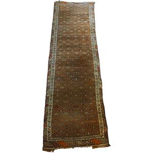 WR-483z: Semi-Antique Kurdish Rug Runner