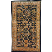 WR-498z: Late 19th Century Bibikabad Persian Rug