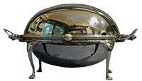 WSI-8212z: Silverplated Revolving Breakfast Tureen